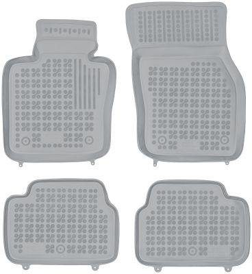 REZAW PLAST popielate gumowe dywaniki samochodowe Mini Cooper S 5-drzwiowe od 2014r. 200722S/Z