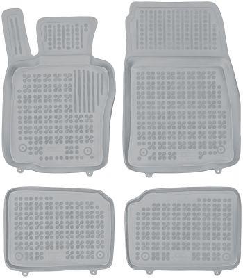 REZAW PLAST popielate gumowe dywaniki samochodowe Mini Countryman od 2010-2017r. 200725S/Z