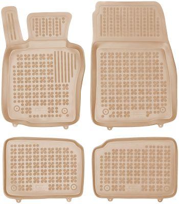 REZAW PLAST beżowe gumowe dywaniki samochodowe Mini Countryman od 2010-2017r. 200725B/Z