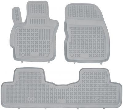 REZAW PLAST popielate gumowe dywaniki samochodowe Mazda 5 od 2005-2010r. 200804S/Z
