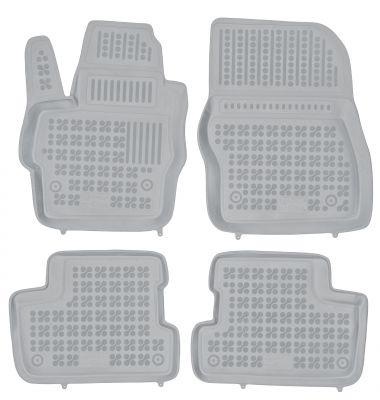 REZAW PLAST popielate gumowe dywaniki samochodowe Mazda 3 I/II od 2003-2013r. 200806S/Z