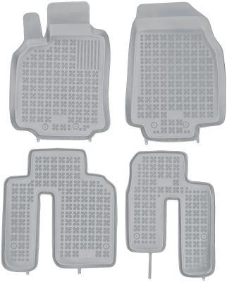REZAW PLAST popielate gumowe dywaniki samochodowe Mazda CX-9 od 2007-2015r. 200809S/Z