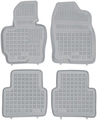 REZAW PLAST popielate gumowe dywaniki samochodowe Mazda CX-5 od 2012-2017r. 200810S/Z