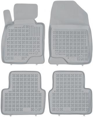REZAW PLAST popielate gumowe dywaniki samochodowe Mazda 3 III Hatchback Sedan od 2013r. 200813S/Z