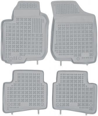 REZAW PLAST popielate gumowe dywaniki samochodowe Hyundai i30 I od 2007-2012r. 201001S/Z