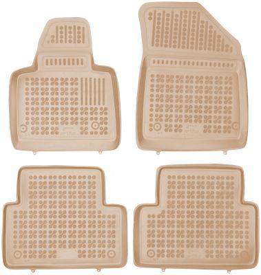 REZAW PLAST beżowe gumowe dywaniki samochodowe Citroen C5 od 2008r. 201201B/Z