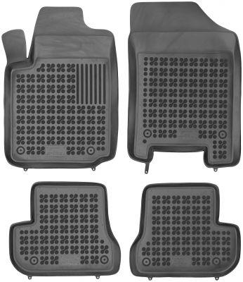 REZAW PLAST gumowe dywaniki samochodowe Citroen C2 z wycięciem na gaśnicę od 2003-2009r. 201202