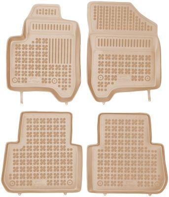 REZAW PLAST beżowe gumowe dywaniki samochodowe Citroen C3 Picasso od 2009-2016r. 201205B/Z