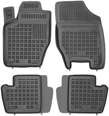 REZAW PLAST gumowe dywaniki samochodowe Citroen C4 I  z wycięciem na gaśnicę od 2004-2010r. 201206