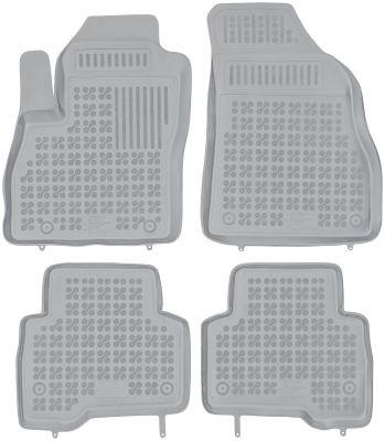 REZAW PLAST popielate gumowe dywaniki samochodowe Citroen Nemo Kombi od 2007r. 201209S/Z