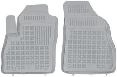 REZAW PLAST popielate gumowe dywaniki samochodowe Citroen Nemo Dostawczy 2-osobowy od 2007r. 201209P/S/Z