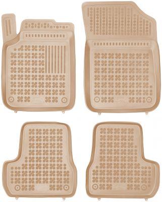 REZAW PLAST beżowe gumowe dywaniki samochodowe Citroen C3 II od 2009-2016r. 201213B/Z