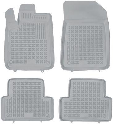 REZAW PLAST popielate gumowe dywaniki samochodowe Citroen C5 od 2001-2008r. 201214S/Z