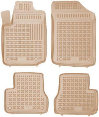 REZAW PLAST beżowe gumowe dywaniki samochodowe Citroen C3 od 2002-2009r. 201217B/Z