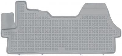 REZAW PLAST popielate gumowe dywaniki samochodowe Fiat Ducato II od 2006r. 201219S/Z