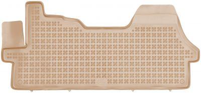 REZAW PLAST beżowe gumowe dywaniki samochodowe Fiat Ducato II od 2006r. 201219B/Z