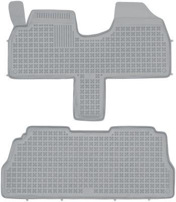REZAW PLAST popielate gumowe dywaniki samochodowe Lancia Zeta od 1994-2002r. 201221S/Z