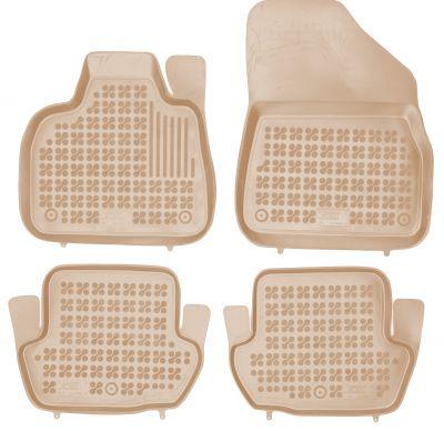 REZAW PLAST beżowe gumowe dywaniki samochodowe Citroen DS5 od 2012r. 201224B/Z
