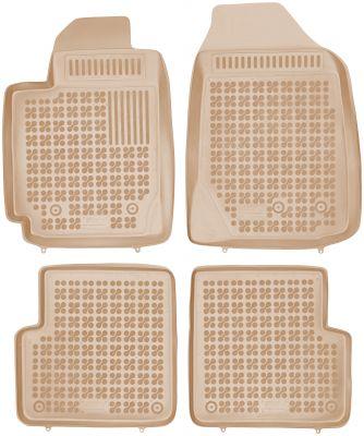 REZAW PLAST beżowe gumowe dywaniki samochodowe Toyota Corolla IX od 2000-2006r. 201419B/Z