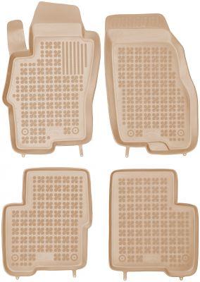 REZAW PLAST beżowe gumowe dywaniki samochodowe Fiat Linea I od 2006r. 201507B/Z