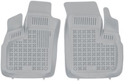 REZAW PLAST popielate gumowe dywaniki samochodowe Fiat Doblo od 2006-2010r. 201509S/Z