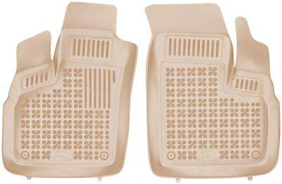 REZAW PLAST beżowe gumowe dywaniki samochodowe Fiat Doblo od 2006-2010r. 201509B/Z