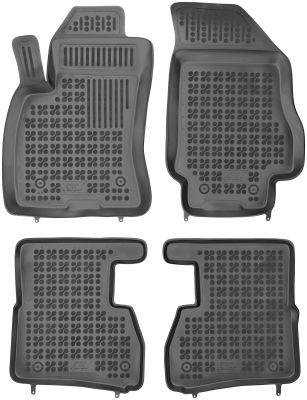 REZAW PLAST gumowe dywaniki samochodowe Fiat Doblo II 5-osobowe 7-osobowe od 2010r. 201512