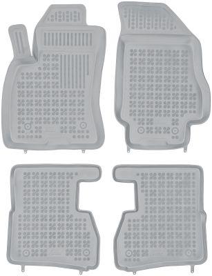 REZAW PLAST popielate gumowe dywaniki samochodowe Fiat Doblo II 5/7osobowe od 2009r. 201512S/Z