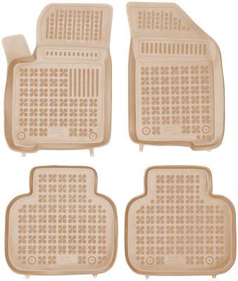 REZAW PLAST beżowe gumowe dywaniki samochodowe Fiat Freemont od 2011r. 201513B/Z