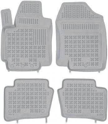 REZAW PLAST popielate gumowe dywaniki samochodowe Hyundai i20 od 2008-2014r. 201602S/Z