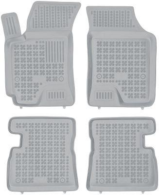 REZAW PLAST popielate gumowe dywaniki samochodowe Hyundai Getz od 2003r. 201608S/Z