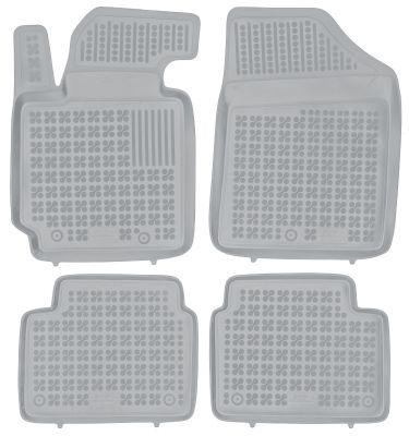 REZAW PLAST popielate gumowe dywaniki samochodowe Hyundai Veloster od 2010r. 201610S/Z