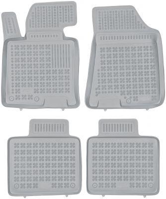 REZAW PLAST popielate gumowe dywaniki samochodowe Hyundai i40 od 2011r. 201611S/Z