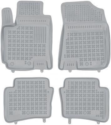REZAW PLAST popielate gumowe dywaniki samochodowe Hyundai i20 od 2014r. 201616S/Z