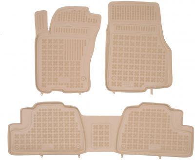 REZAW PLAST beżowe gumowe dywaniki samochodowe Mercedes M-KLasa W163 od 1998-2005r. 201703B