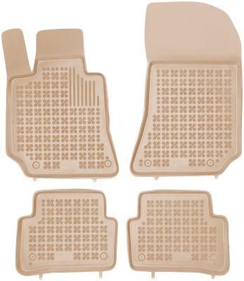 REZAW PLAST beżowe gumowe dywaniki samochodowe Mercedes CLS-Klasa W218 II od 2011r. 201710B/Z