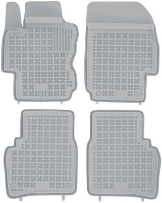 REZAW PLAST popielate gumowe dywaniki samochodowe Nissan Note od 2006-2013r. 201802S/Z