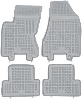 REZAW PLAST popielate gumowe dywaniki samochodowe Nissan X-Trail II od 2007-2013r. 201806S/Z