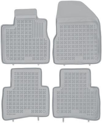 REZAW PLAST popielate gumowe dywaniki samochodowe Nissan Murano od 2003r. 201807S/Z