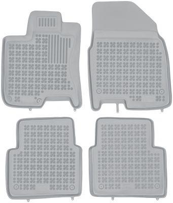 REZAW PLAST popielate gumowe dywaniki samochodowe Nissan Qashqai +2 od 2008-2013r. 201809S/Z
