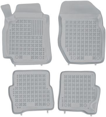 REZAW PLAST popielate gumowe dywaniki samochodowe Nissan Almera N16 II od 2000-2006r. 201813S/Z