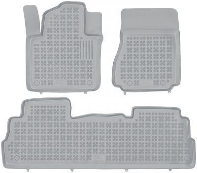 REZAW PLAST popielate gumowe dywaniki samochodowe Nissan NV200 od 2009r. 201814S/Z