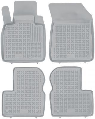 REZAW PLAST popielate gumowe dywaniki samochodowe Nissan Micra IV K13 od 2010-2016r. 201817S/Z