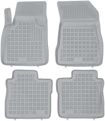 REZAW PLAST popielate gumowe dywaniki samochodowe Nissan Note II od 2013r. 201818S/Z
