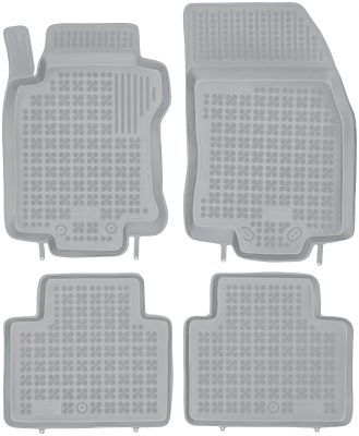 REZAW PLAST popielate gumowe dywaniki samochodowe Nissan X-Trail III od 2013r. 201820S/Z