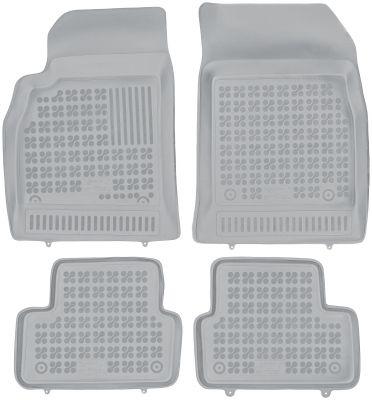REZAW PLAST popielate gumowe dywaniki samochodowe Chevorlet Cruze od 2009r. 202103S/Z