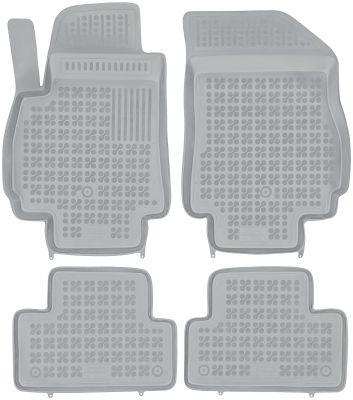 REZAW PLAST popielate gumowe dywaniki samochodowe Chevorlet Orlando od 2011r. 202107S/Z