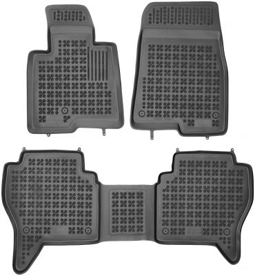 REZAW PLAST gumowe dywaniki samochodowe Mitsubishi Pajero III od 1999-2006r. 202304