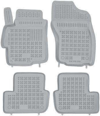REZAW PLAST popielate gumowe dywaniki samochodowe Mitsubishi Lancer od 2007r. 202305S/Z