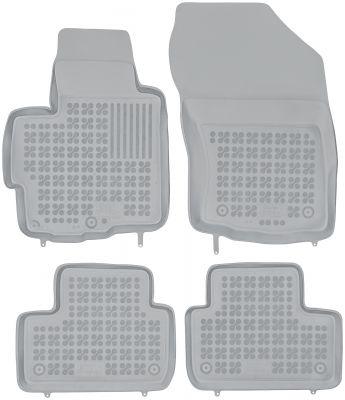 REZAW PLAST popielate gumowe dywaniki samochodowe Mitsubishi ASX od 2010r. 202306S/Z